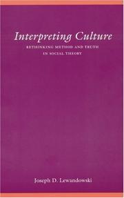 Interpreting Culture PDF