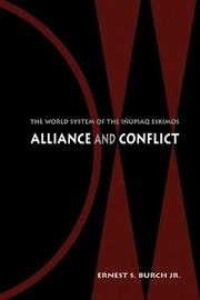 Alliance and Conflict by Ernest S. Burch
