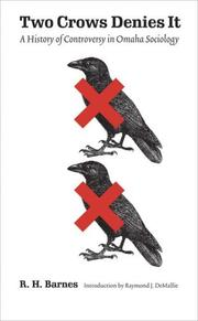 Two Crows Denies It by R. H. Barnes