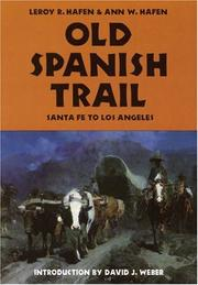 Old Spanish Trail by Le Roy Reuben Hafen