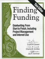 Finding Funding by Ernest W. Brewer