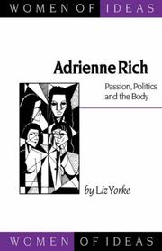 Adrienne Rich by Liz Yorke