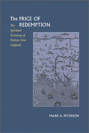 The price of redemption by Peterson, Mark A.