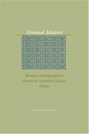Personal Matters PDF