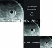 The Philosopher's Desire by William Egginton