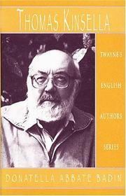 English Authors Series - Thomas Kinsella PDF