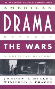 American drama between the wars PDF