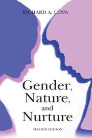 Gender, Nature, and Nurture