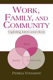 Work, Family, and Community PDF