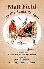 Matt Field on the Santa Fe Trail PDF