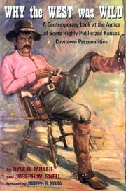 Why the West was wild PDF