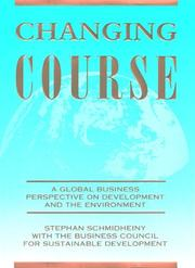 Changing course by Stephan Schmidheiny