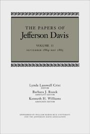 The papers of Jefferson Davis by Jefferson Davis