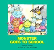 Monster Goes to School by Virginia Mueller