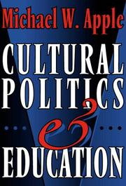 Cultural politics and education PDF