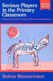 Serious players in the primary classroom PDF