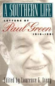 A southern life by Green, Paul