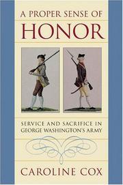 A proper sense of honor PDF
