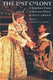 The lost colony by Green, Paul