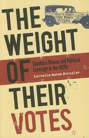 The Weight of Their Votes PDF