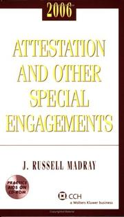Attestation and Other Special Engagements, 2006 PDF