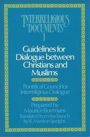 Guidelines for dialogue between Christians and Muslims PDF