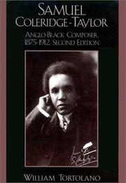 Samuel Coleridge-Taylor by William Tortolano