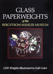 Glass paperweights of the Bergstrom-Mahler Museum PDF