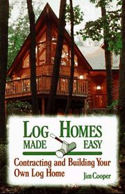 Log homes made easy PDF