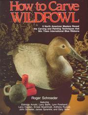 How to Carve Wildfowl PDF
