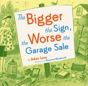 The Bigger the Sign, the Worse the Garage Sale PDF
