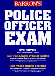 Police officer exam PDF