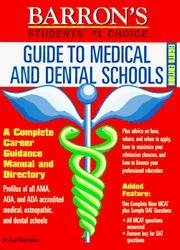 Barron's guide to medical & dental schools PDF