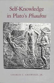 Self-knowledge in Plato&#39;s Phaedrus by Charles L. Griswold