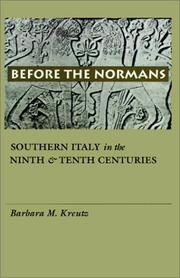 Before the Normans by Barbara M. Kreutz