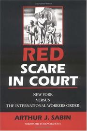 Red Scare in Court by Arthur J. Sabin