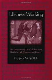 Idleness working by Gregory M. Sadlek