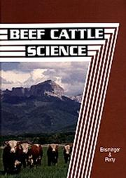 Beef cattle husbandry by M. Eugene Ensminger