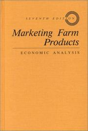 Marketing farm products by Geoffrey Seddon Shepherd