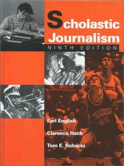 Scholastic journalism by Earl English