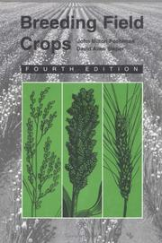 Breeding field crops by John Milton Poehlman