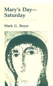 Mary's day--Saturday by Mark G. Boyer