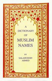The Dictionary of Muslim Names PDF