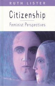 Citizenship by Ruth Lister