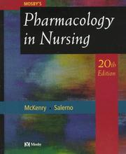 Mosby&#39;s pharmacology in nursing by Leda M. McKenry