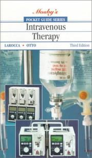 Pocket guide to intravenous therapy PDF