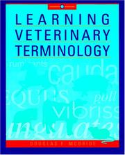 Learning Veterinary Terminology by Douglas F. McBride