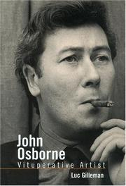 John Osborne, vituperative artist PDF
