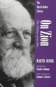 Ben ʻam le-artso by Buber, Martin