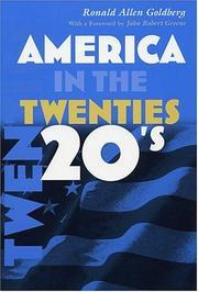 America in the twenties PDF